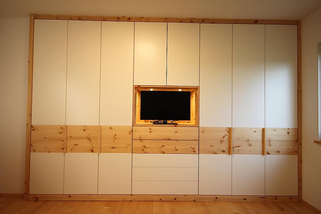 Schlafzimmer schreinerei pangerl gmbh for Sideboard zirbenholz